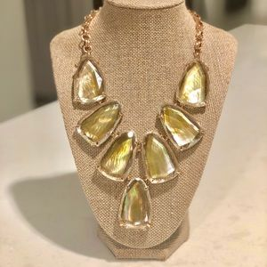 Kendra Scott Harlow Necklace in Dusted Gold